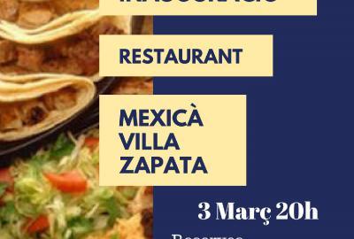 Inauguració Restaurant Mexicà