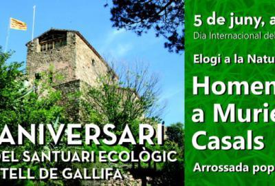 Aplec al Santuari Ecològic del Castell de Gallifa