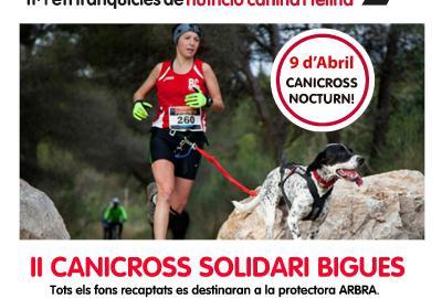 II Canicross solidaria a Bigues
