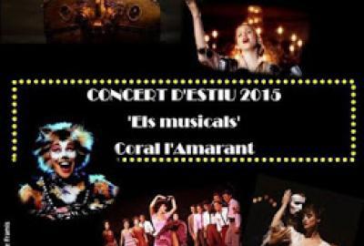 Concert, Els Musicals per la Coral Amarant de Bigues