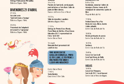 Diada de Sant Jordi a Bigues i Riells