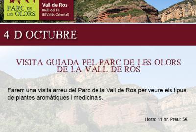 Visita guiada El Parc de les Olors, organitza una visita guiada
