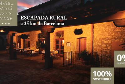 Disfruta de una escapada rural inolvidable en un hotel rural 100% sostenible