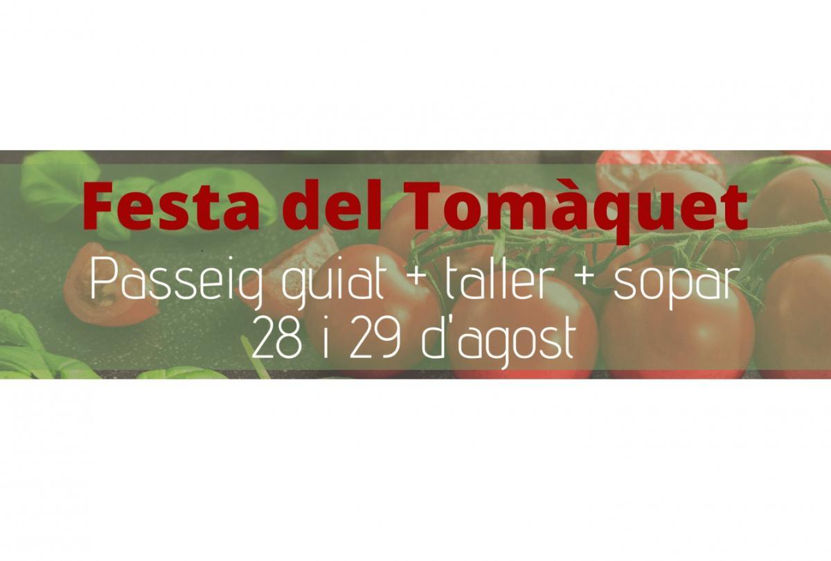 Fiesta del Tomate en el Parc de les Olors